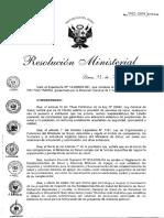 RM 442-2014-MINSA- Valores Volumen Producción Optimizada Para PIP