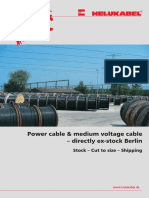 CW FLYER Power Cables Medium Voltage Cables En
