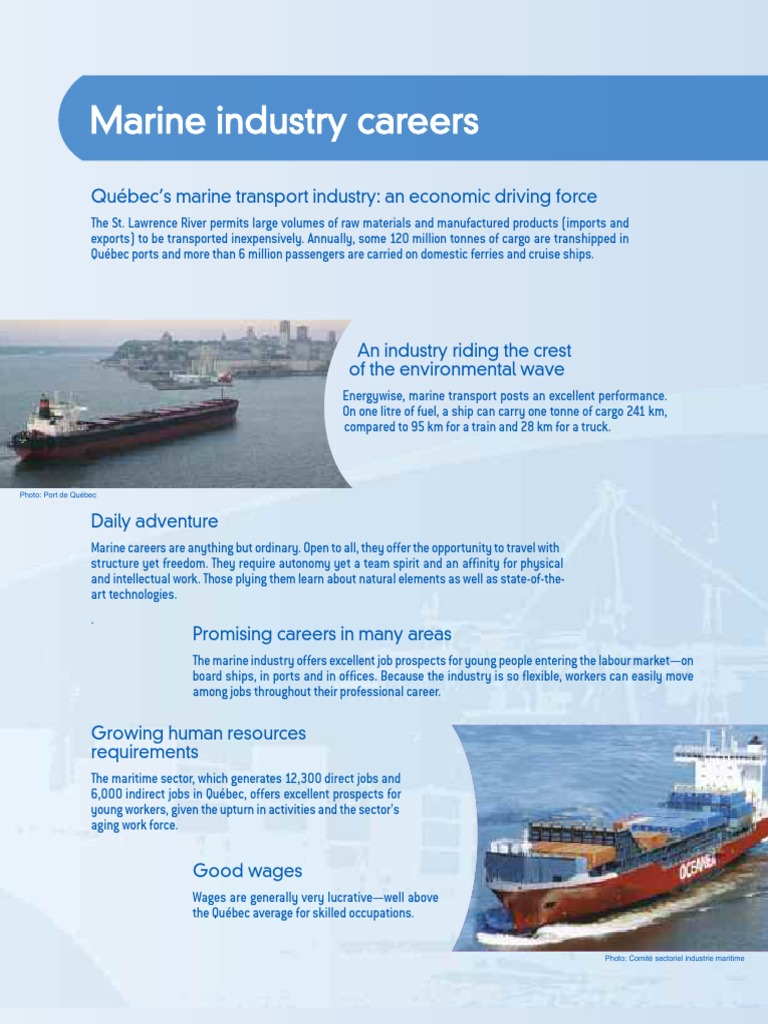 Cahier Metiers ANG Pour Web   Ships   Ship Transport