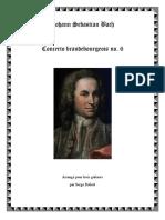 Johann Sebastian Bach, Brandenburg concerto nu. 6