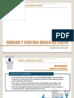 #T-SPF Tema 6 [Teoría] - Control de Materiales
