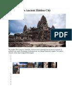 Angwor Wat Temple