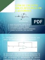 Aplicación de Circuitos Operacionales Integrales en El Automovil