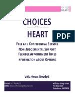 choices flyer