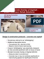 Conc Overlays - Urban Pvt Rehab