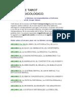 Curso de Tarot Cosmopsicologico