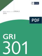 Gri 301 Materials 2016