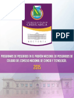 Catalogo de Pnpc 2015
