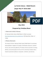 morel strategic plan slidell library