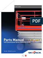 Parts Manual SJIII3226 Plataforma