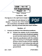 Csm 15 19 Civil Engineering Paper II