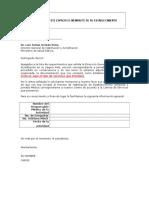 Carta Modelo de Solicitud de Habilitacion Establecimiento Temporal y Jornada Medica