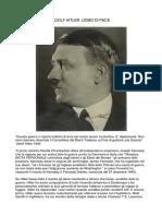 Adolf Hitler - Uomo Di Pace