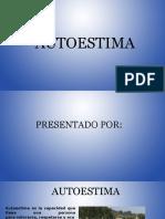 Diapositiva de Autoestima