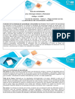 Guía de Actividades y Rúbrica de Evaluación - Tarea 1 - Elaborar Mapa Mental Con Las Características Del Conocimiento Científico