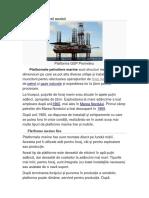 Platformă petrolieră marină
