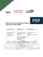 APL 1.2.1 Manual Toma Muestras Gral Lab HRR V0 2014