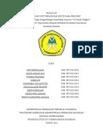 Cover, Kt Pengantar Dam Daftar Isi