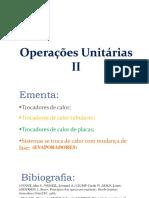 Operações 2 - Aula 1