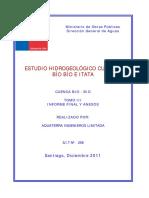 Estudio Hidrogeologico Cuencas Biobio