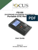 FS 100 Userguide