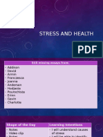5 -stress and health rg