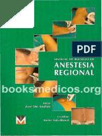 Manual de Bolsillo de Anestesia Regional