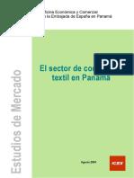 Estudio de Mercado Panama Sector Confeccion Textil