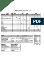 Cronograma de PSI115-2016