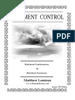 Rudiment Control 2015