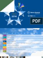 Indicadores BG Informe RSE 2014