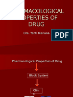Pharmacological Properties of Drug-tr