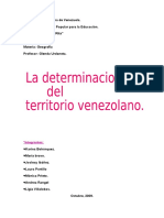 El Territorio Venezolano