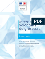 Guide Interruption Volontaire de Grossesse