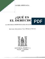 Javier Hervada - ¿Qué Es El Derecho