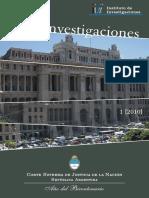 CSJN - Instituto de Investigaciones y de Referencia Extranjera - Genocidio y Lesa Humanidad
