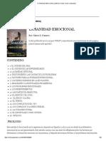 La Sanidad Emocional (Libro)