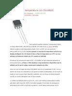 Controla Temperatura Con Ds18b20
