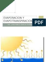 Evaporacion y Evapotranspiracion