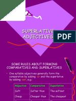 Comparative and Superlative Degree