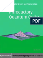 Gerry C., Knight P. - Introductory quantum optics (CUP, 2004).pdf