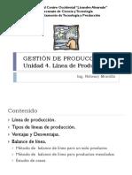 Unidad IV. Linea de Produccion