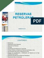 Reservas Venezolanas de Hidrocarburos