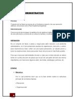 Proceso Administrativo 2