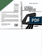 Lógica e Algebra de boole.pdf