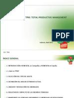 metodología Tpm Total Productive Mangement-sra. Quesada
