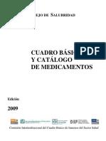 Cuadro básico y catálogo de medicamentos (2009).pdf