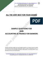 JAIIB AFB Sample Questions by Murugan-Nov 16 Exams