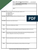 2 20 17science-social studies weekly homework sheet week 27  - 5th grade