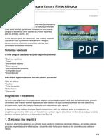 Noticiasnaturais.com-5 Remédios Naturais Para Curar a Rinite Alérgica